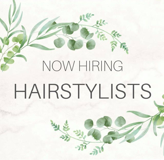 Now Hiring Hairstylist | Salon Pazza Bella