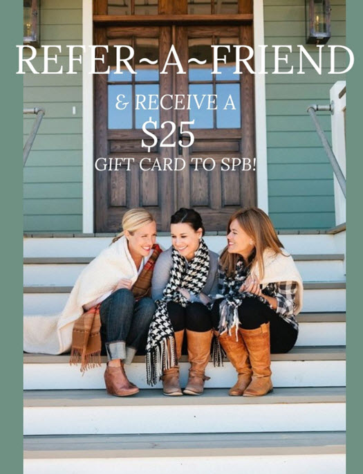 refer a friend salon pazza bella