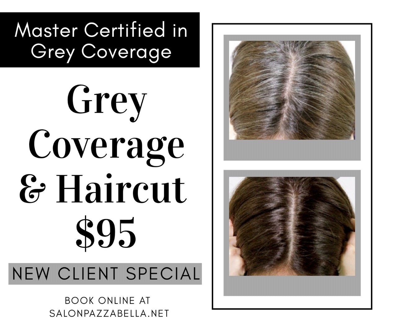 salon pazza bella specials grey